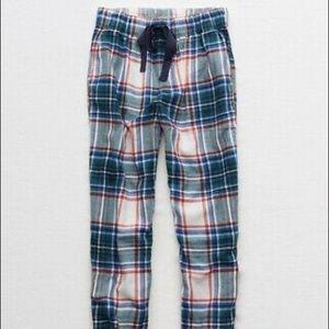 Aerie Flannel Pajama Joggers